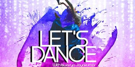 LET'S DANCE! with Iswarya Jayakumar tickets