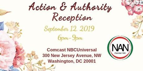 National Action Network (NAN) Action & Authority Reception tickets