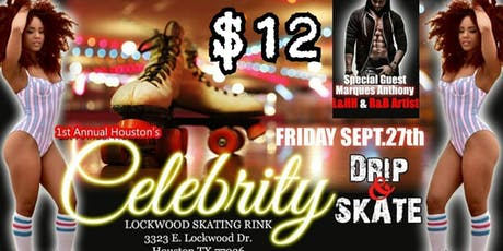 Celebrity Drip and Skate Party Jam tickets