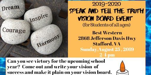 Speak & Tell the Truth Vision Boarding