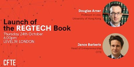 Launch of REGTECH Book tickets