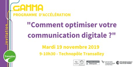 """Comment optimiser votre communication digitale ?"" tickets"