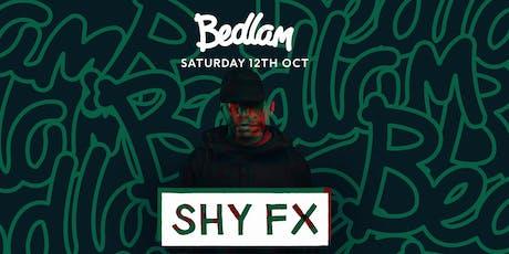 Shy FX tickets