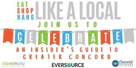 An Insider's Guide to Greater Concord - Launch Party tickets