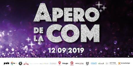 APERO de la COM tickets