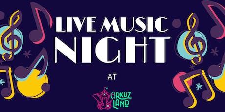 Con Cierto Sentido Music Night entradas
