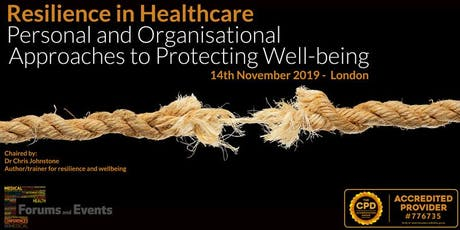 Resilience in Healthcare tickets