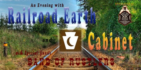 Evening with Railroad Earth & Cabinet tickets