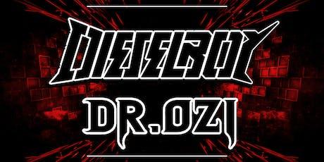 Simulation: Dieselboy & Dr. Ozi tickets
