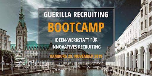 GUERILLA RECRUITING BOOTCAMP - Ideen-Werkstatt für innovatives Recruiting