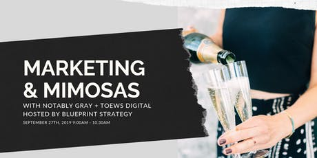 Marketing & Mimosas tickets