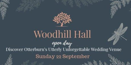 Woodhill Hall Wedding Open Day tickets