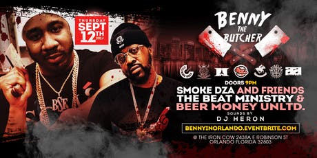 The Beat Ministry presents Benny the Butcher tickets