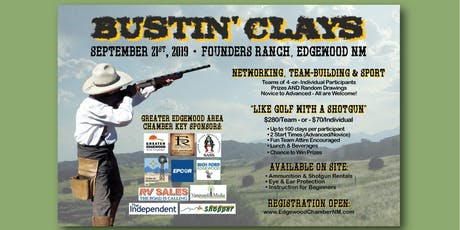 4th Annual Bustin' Clays Tournament tickets