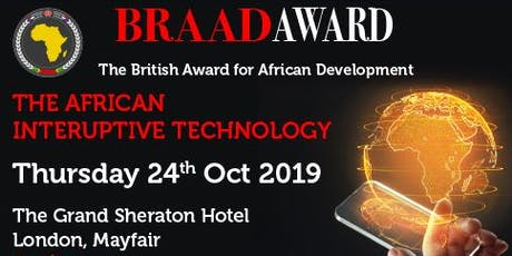 The African Disruptive Technology Conference & Awards Ceremony tickets