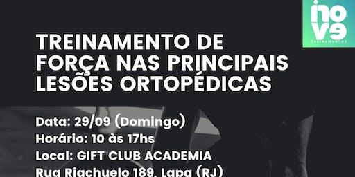 Treinamento de Força nas Principais Lesões Ortopéd