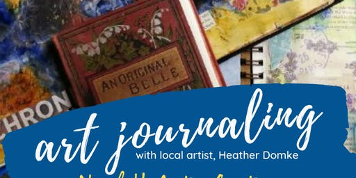 Art Journaling Workshop with Heather Domke