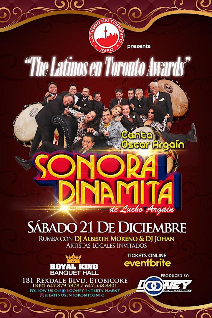Imagen de The Latinos En Toronto Awards &  Sonora Dinamita