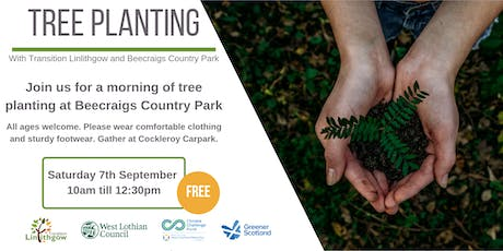 Tree planting with Transition Linlithgow at Beecraigs Country Park tickets