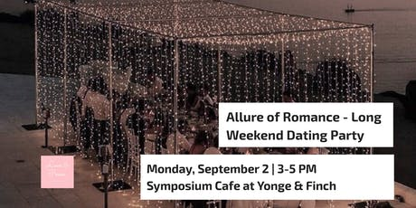 Allure of Romance - Long Weekend Dating Party tickets