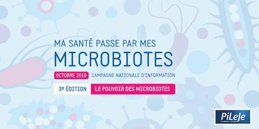 """Conférence """"Le rôle du microbiote en santé"""""""
