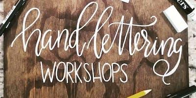 Beginner - Hand Lettering & Wood Sign Workshop