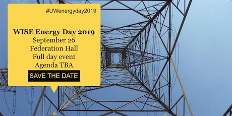 UW Energy Day 2019 tickets