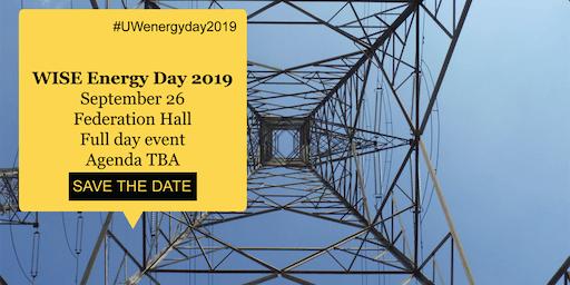 UW Energy Day 2019
