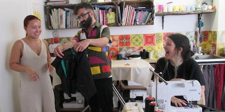 Evolve your Wardrobe with Riccardo Guido, finalist of the Great British Sewing Bee tickets