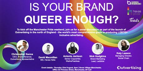 Is your brand queer enough? tickets