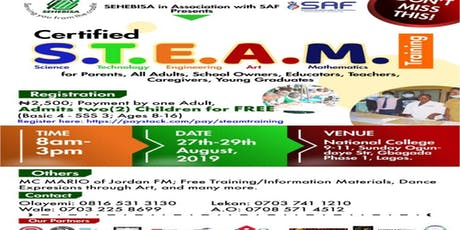 Certified STEAM Training  tickets