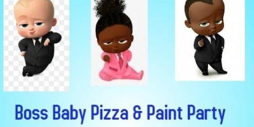 Dippy Wacky Presents: Boss Baby Pizza & Paint Party