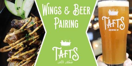Wings & Beer Pairing tickets