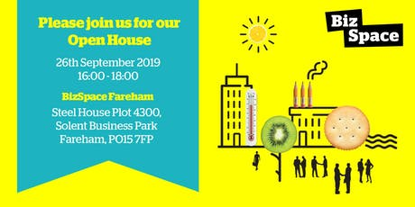 ===== OPEN HOUSE ===== Launch: BizSpace Fareham tickets