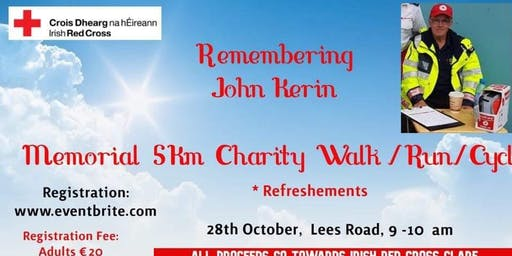 John Kerin Memorial Walk/Run