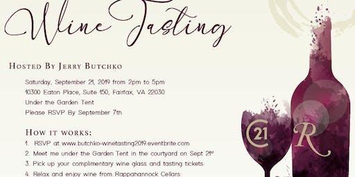 Jerry Butchko Client Appreciation Wine Tasting