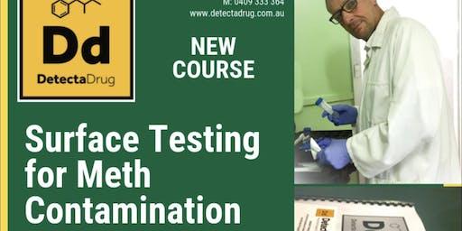SURFACE TESTING FOR METHAMPHETAMINE CONTAMINATION
