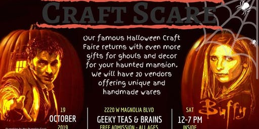 Geeky Halloween Craft Faire