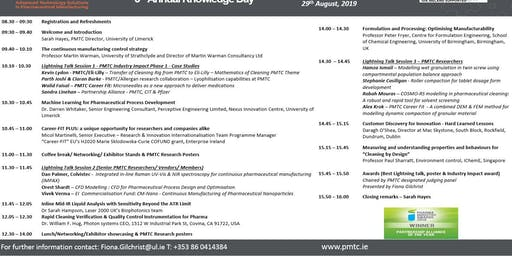 Pharmaceutical Manufacturing Technology Centre (PMTC) 5th Annual Knowledge Day
