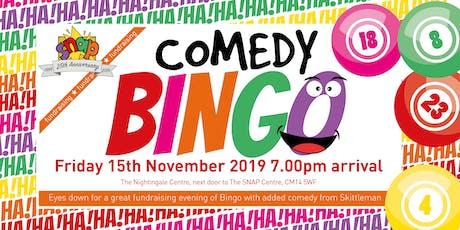 SNAP Comedy Bingo tickets