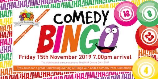 SNAP Comedy Bingo