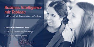 Business Intelligence mit Tableau - 2 Day Training Berlin