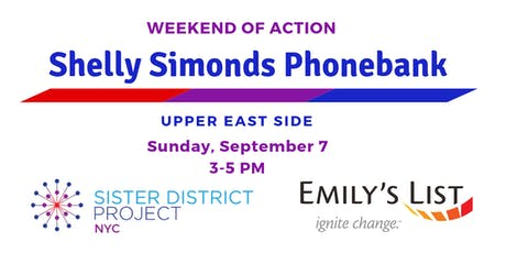 Sister District NYC & Emily's List Phonebank for Shelly Simonds tickets