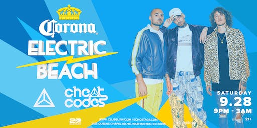 Corona Electric Beach presents Cheat Codes