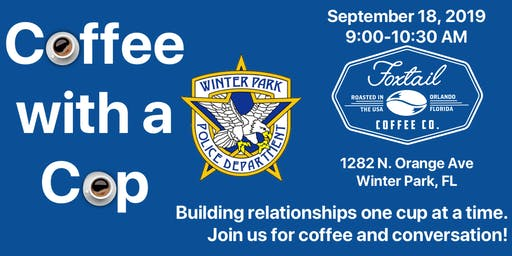 Coffee with a Cop - Winter Park Police Department