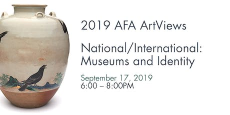 ArtViews Panel Discussion - National/International: Museums and Identity tickets