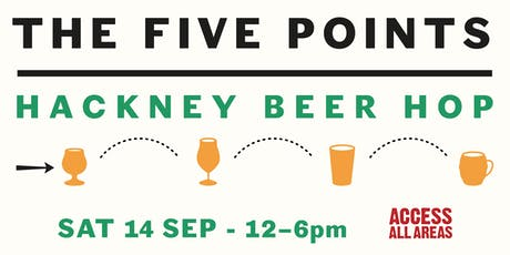 Hackney Beer Hop with Access All Areas tickets