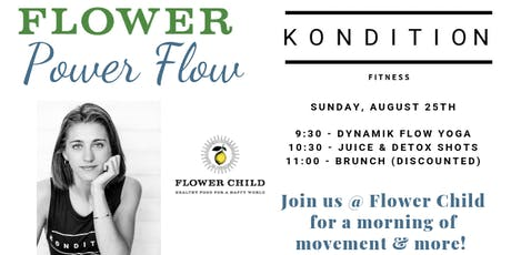 Kondition Flower Power Flow at Flower Child with Anna tickets