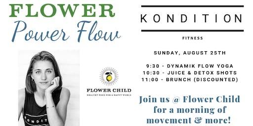 Kondition Flower Power Flow at Flower Child with Anna