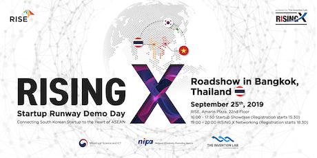RISING X Startup Runway Demo Day in Bangkok tickets
